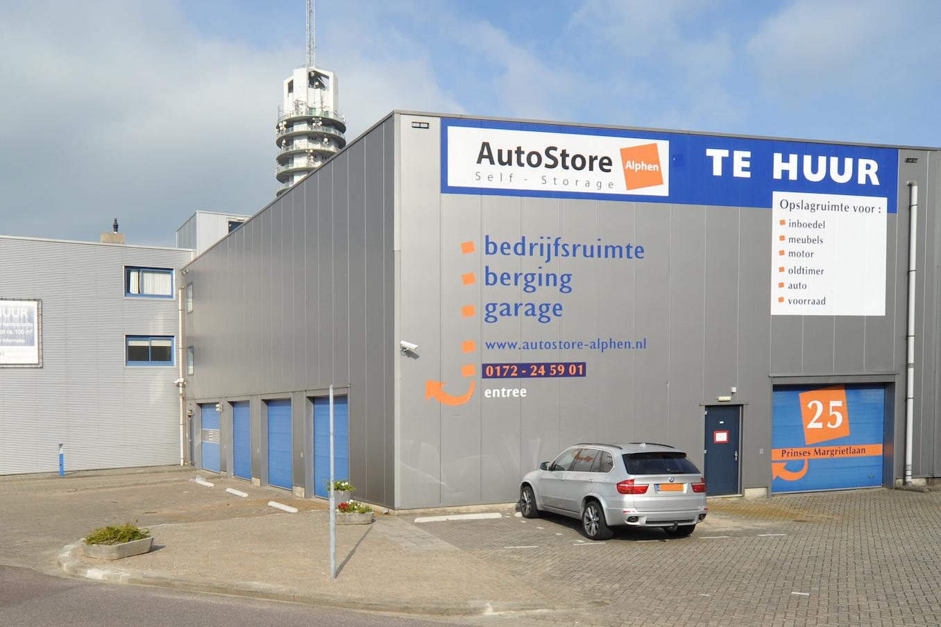 Garage Huren Leiden : Flexibele opslagruimte huren in alphen aan den rijn